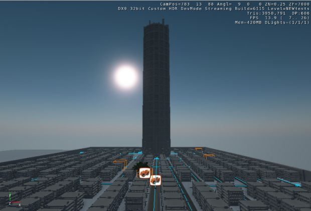 "Neo Kobe City ""Stress Tests"" VERY VERY EARLY WIPS!"