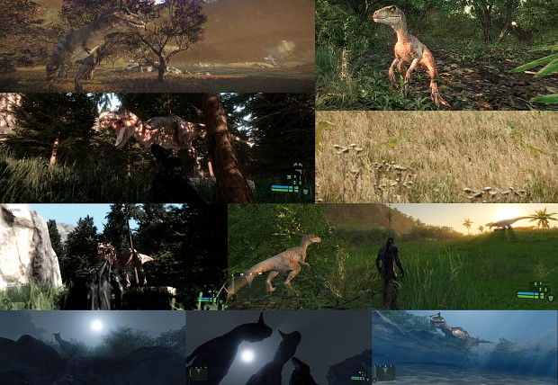 First Ingame Screenshots of JP Dinosaurs