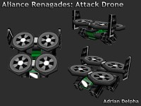 Alliance Renegades Attack Drone