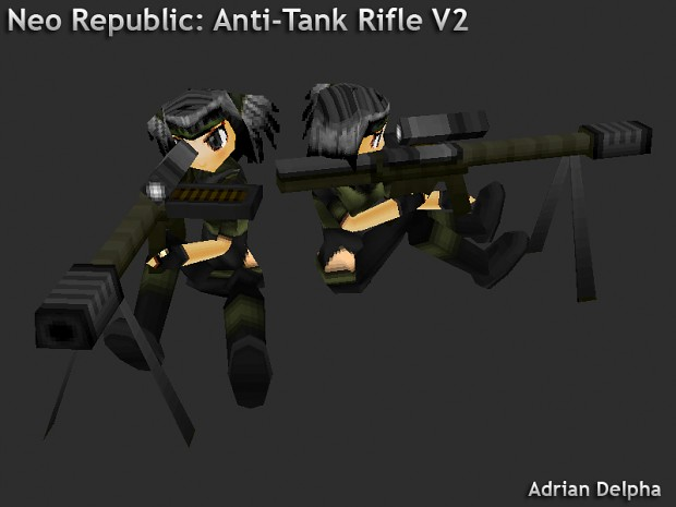 Republic Anti Tank Rifle V2