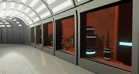 Cloud City - View from inside