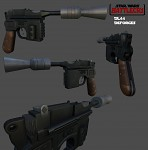 DL-44 blaster - finished
