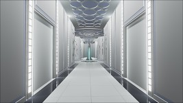 Cloud City - main hallway