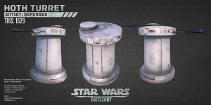 Hoth turret 2 (cylinder turret)