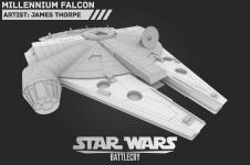 Millenium Falcon WIP