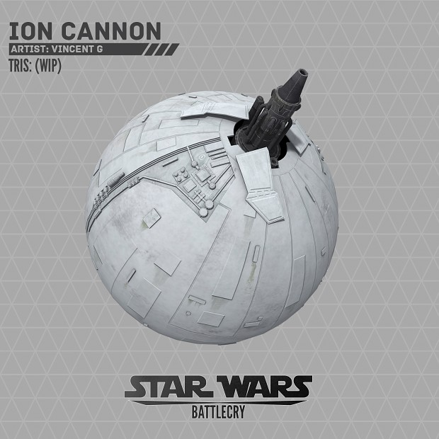 Ion Cannon WIP