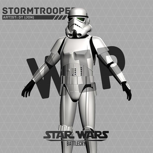 Storm Trooper WIP