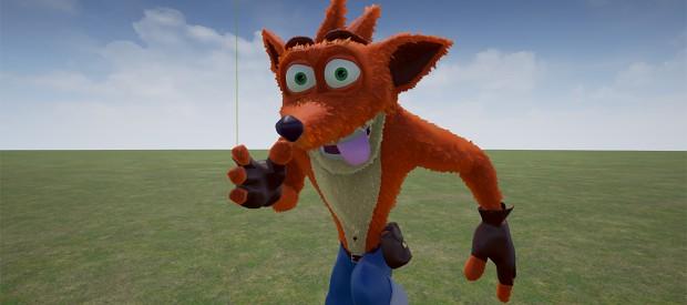 Preview of the new 3D model of Crash - Beta V2.4