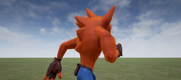 Preview of the new 3D model of Crash - Beta V2.4