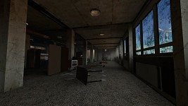 Abandoned office complex