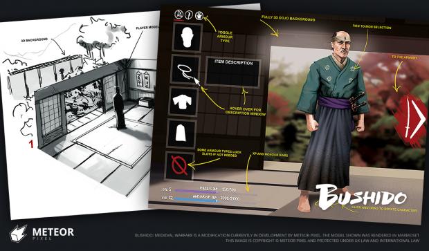 Character Customization - Concept art