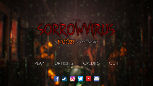 The Sorrowvirus - Main Menu