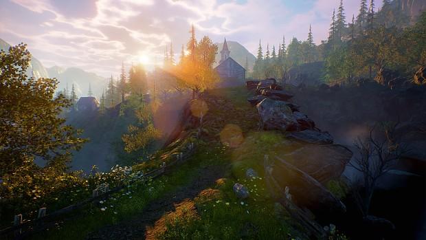 North Rising - Prologue Scenery