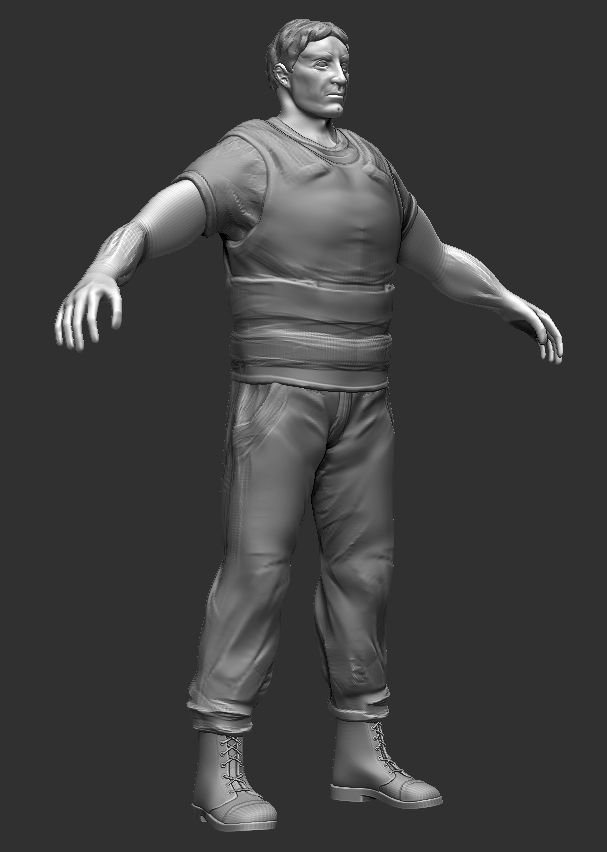 Characters (high-poly)