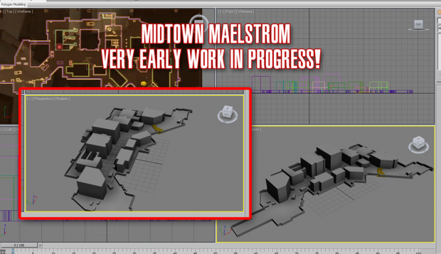 """Midtown - """"Layout"""" (very early WIP)"""