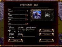 Create Hero Screen