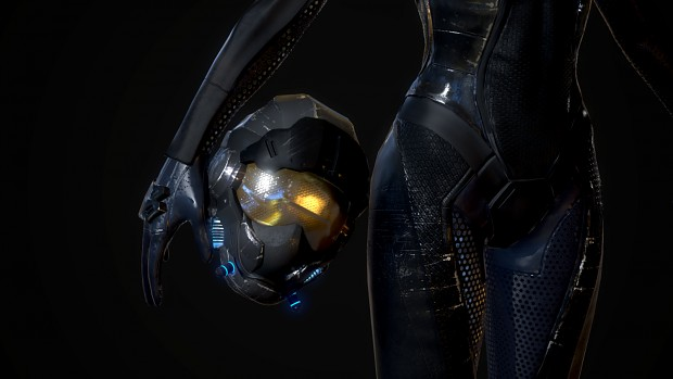 Female pilot suit - Completed Version