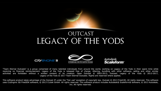 Outcast: Legacy of the Yods