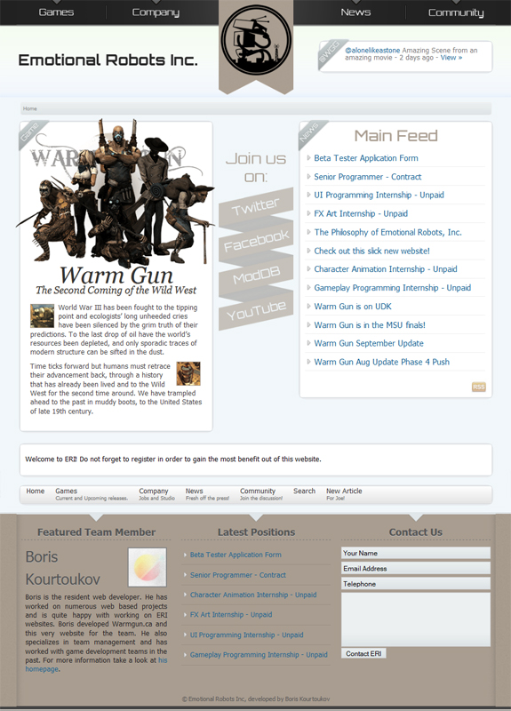 ERI New Website