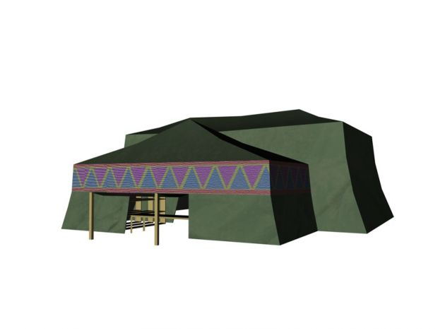 Weapons tent