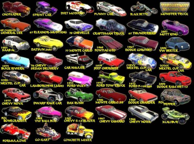 Carpack 1 cars