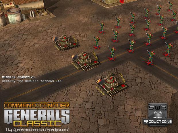 SWR Productions: Generals Classic