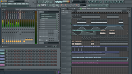 A Typical Project In FL Studio 10