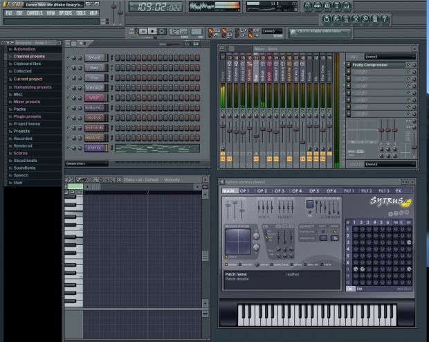 Fruity Loops Screen
