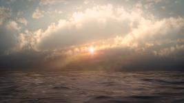 Oceanic dusk