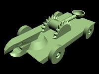 Catapult model