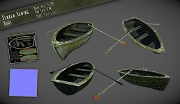 Sunken Rowing Boat