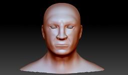 Head Sculpt WIP