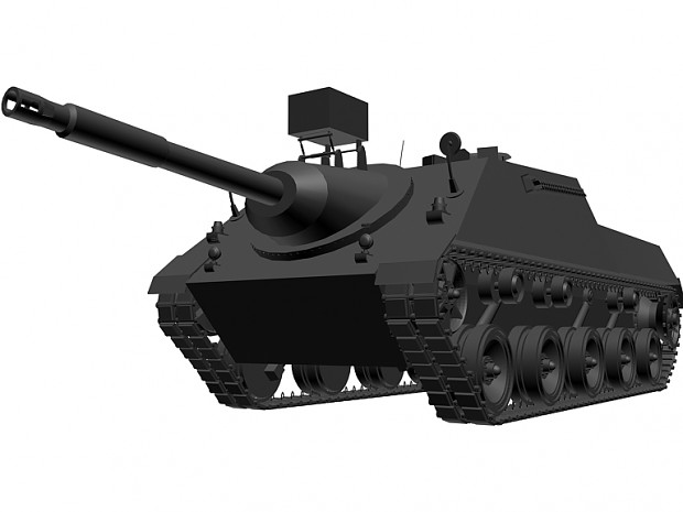3D Primitives assignment; kanonenjagdpanzer