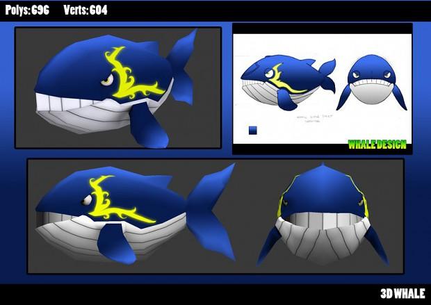 3D Whale