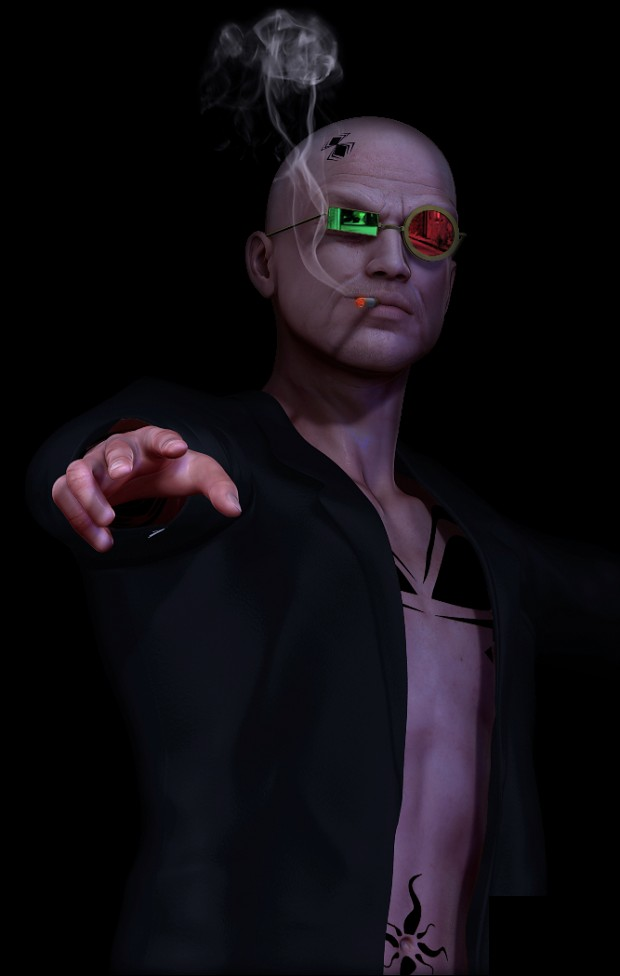 Spider Jerusalem from Transmetropolitan