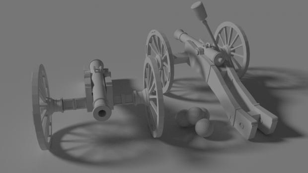 Canon de 6 système An XI