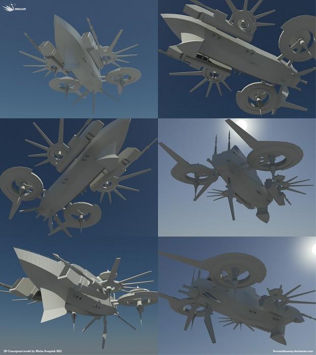 Sky Frigate