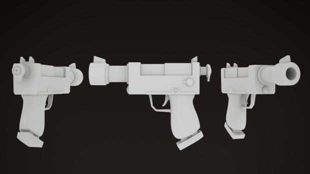 Toon'ish pistol