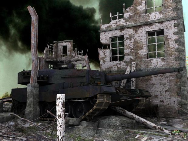 Leopard2A4 Ambush