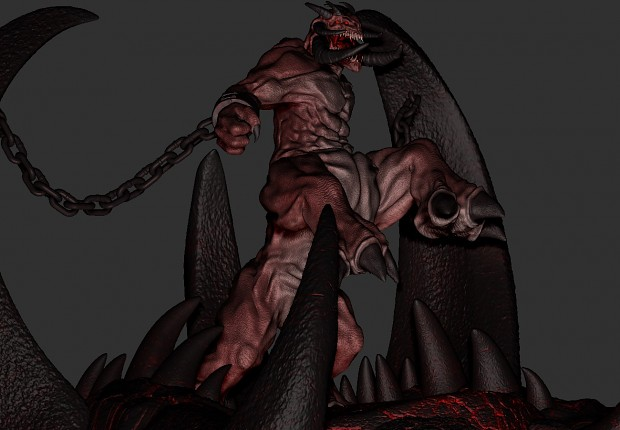 The siege demon model image 3d artists group mod db for Domon siege social
