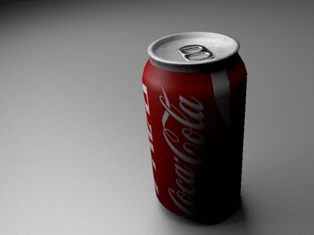 Coke can render 2