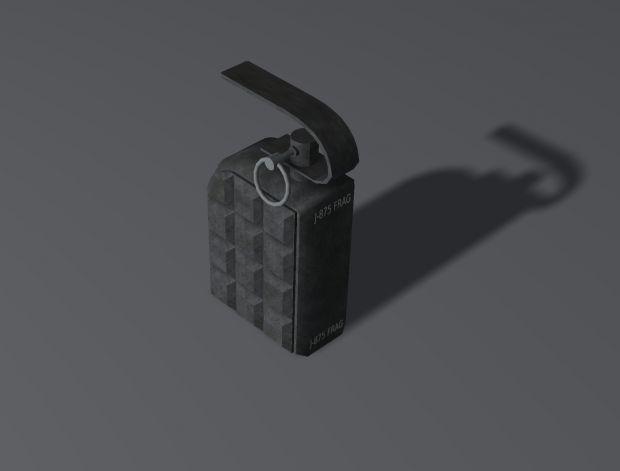 Grenade Concept, Textured