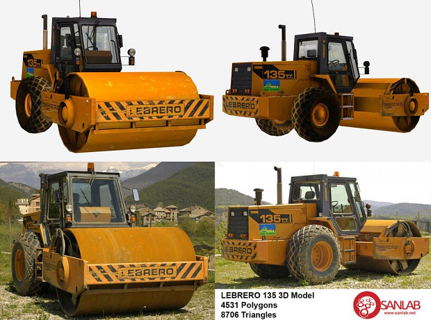 Lebrero Construction Vehicle