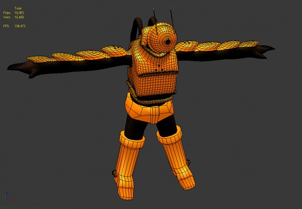 Screenhshot of my character (3ds Max only)
