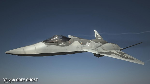 YF-23A Grey Ghost