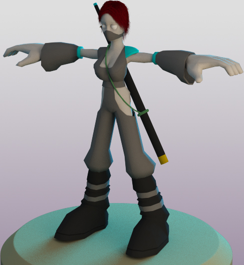 WIP Ninja Girl