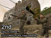 Day of Defeat 2nd 2002 MOTY