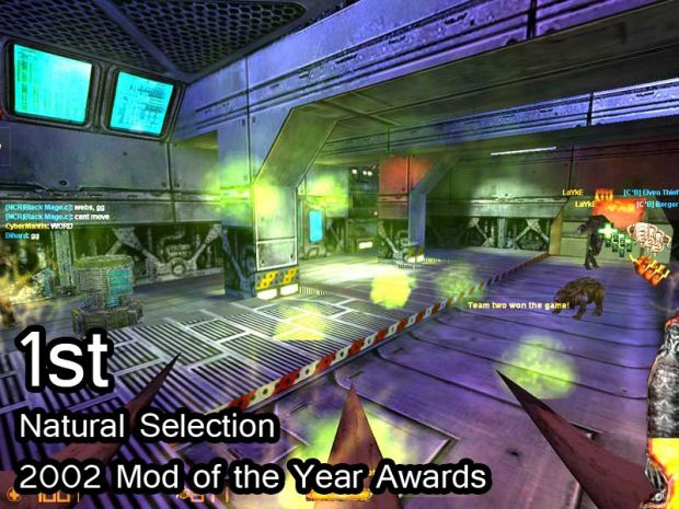 Natural Selection 1st 2002 MOTY