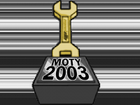 Mod of the Year 2003 Trophy