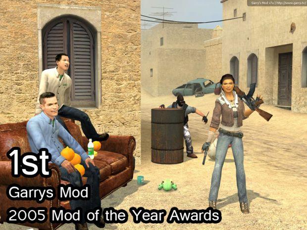 Garrys Mod 1st 2005 MOTY